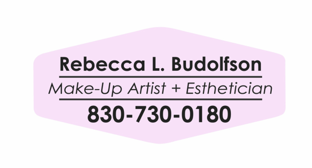 Rebecca L. Budolfson <br />Make-Up Artist + Esthetician